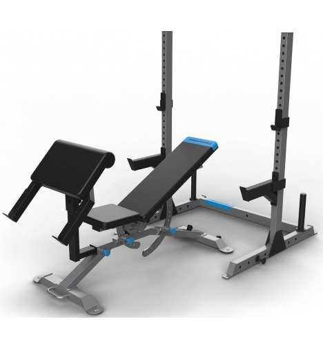 baenk med stativ proform utility bench with rack 8953