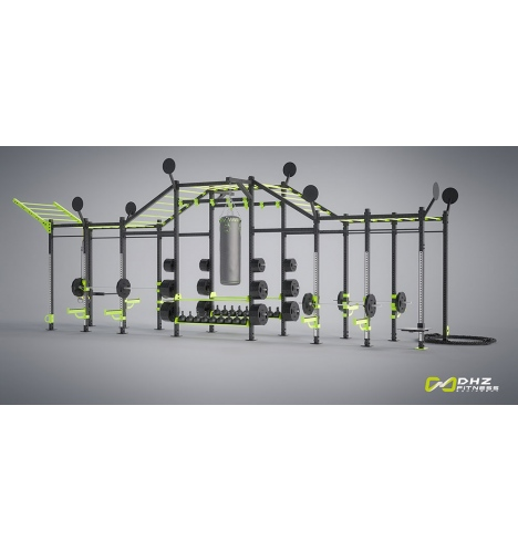 dhz fitness dhz cross rack xtreme tower 4399