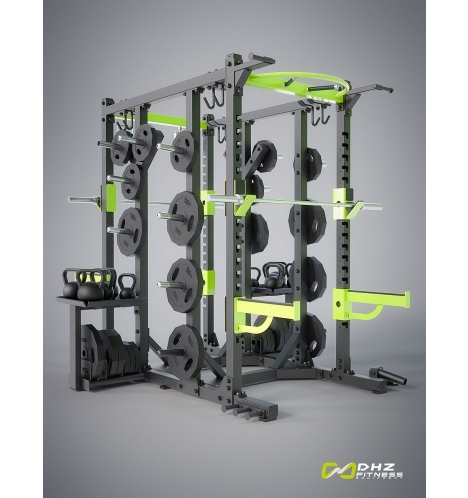 dhz fitness dhz crosstraining rack 4509
