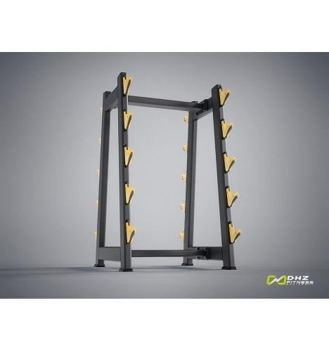 dhz fitness dhz evost i barbell rack 4304