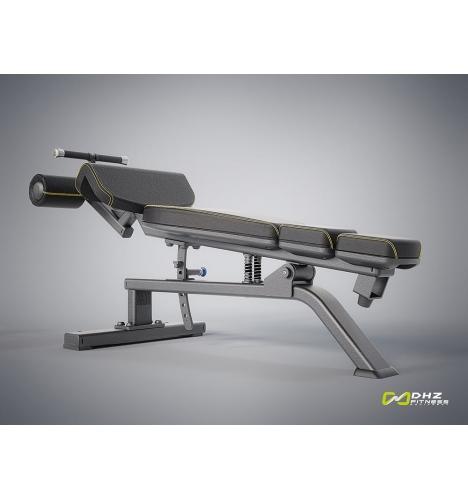 dhz fitness dhz evost i decline abdominal bench 4140