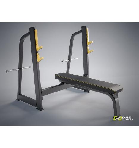 dhz fitness dhz evost i olympic bench 4130