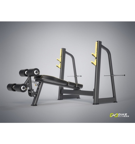 dhz fitness dhz evost i olympic decline bench 4251