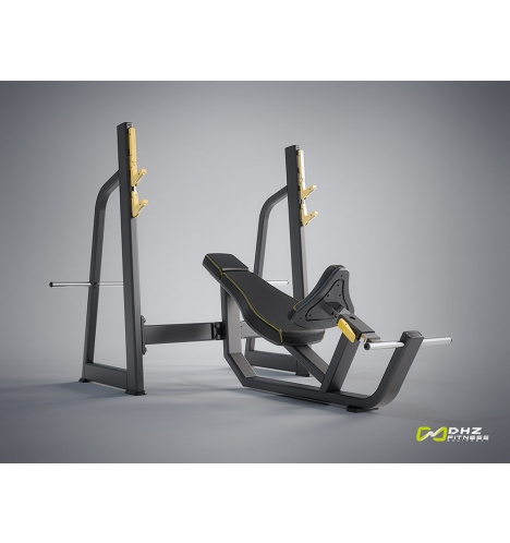 dhz fitness dhz evost i olympic incline bench 4242