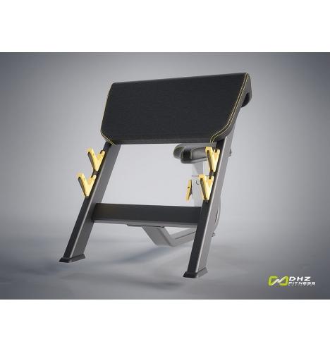 dhz fitness dhz evost i preacher curl bench 4289