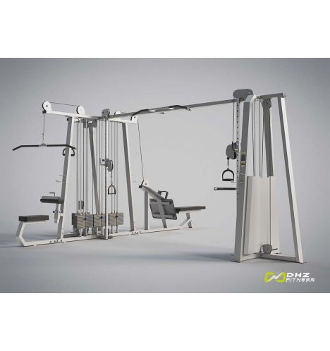 dhz fitness dhz evost ii multistation 5 stationer 4330
