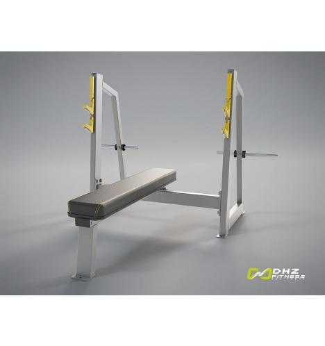 dhz fitness dhz evost ii olympic bench 3601