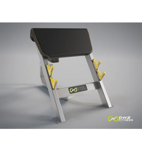 dhz fitness dhz evost ii seated preacher curl 3604