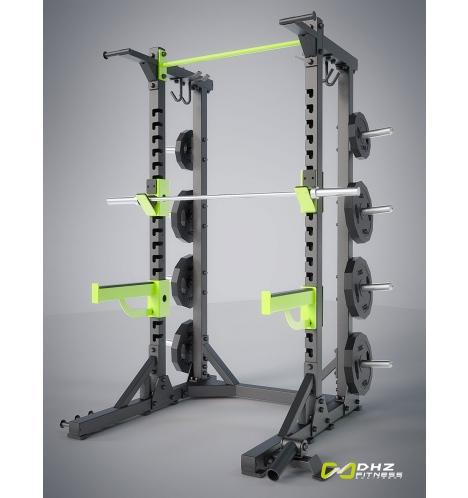dhz fitness dhz half rack 7315