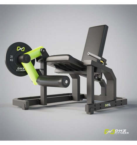 dhz fitness dhz plate load leg extension 3782