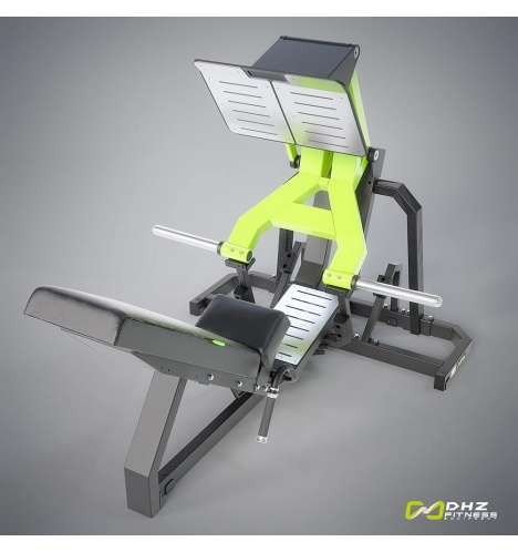 dhz fitness dhz plate loaded leg press 3665