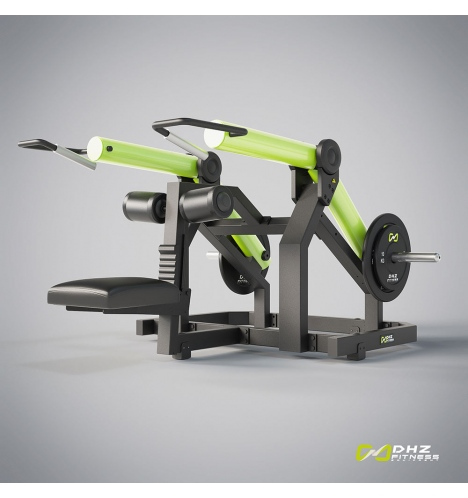 dhz fitness dhz plate loaded seated dip 3802
