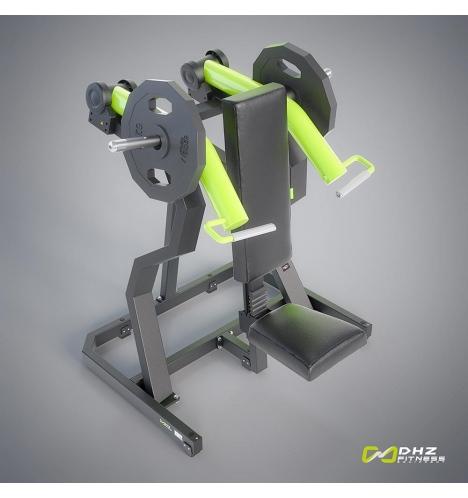 dhz fitness dhz plate loaded shoulder press 3811