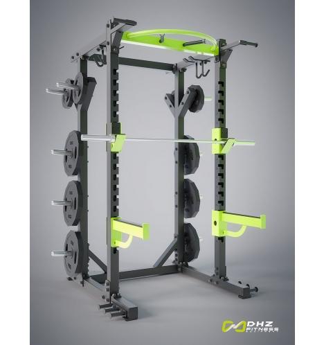 dhz fitness dhz power rack 4505