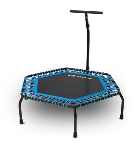 indendoers trampoliner abilica bounceup fitnesstrampolin 4092