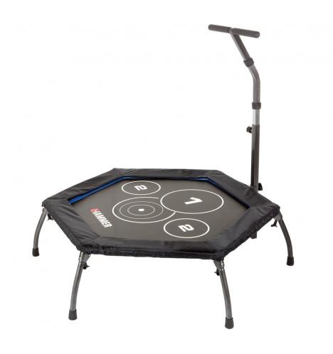 indendoers trampoliner hammer cross jumper trampolin 7780