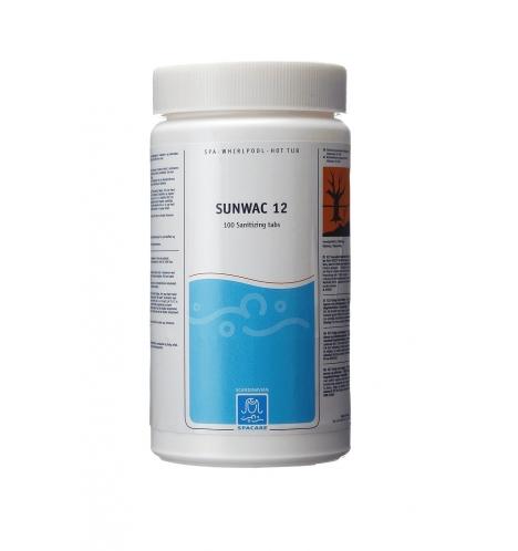 kemikalier tilspabade spacare sunwac 12 klortabletter 7682