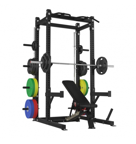 pro cages racks american barbell half rack 8786