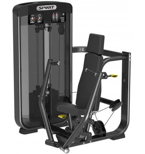 spirit styrkemaskiner spirit seated chest press 6616