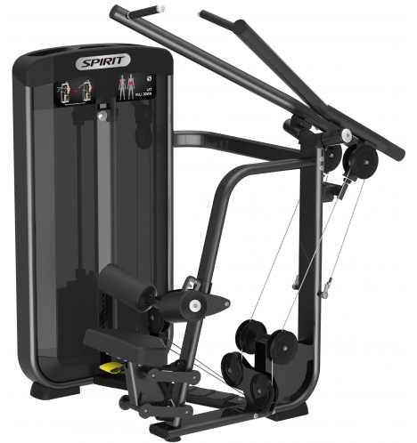 spirit styrkemaskiner spirit seated lat pulldown 6628
