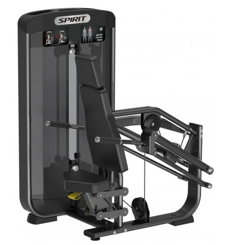 spirit styrkemaskiner spirit seated triceps press 6633