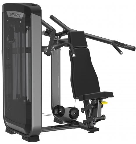 spirit styrkemaskiner spirit shoulder press 6612