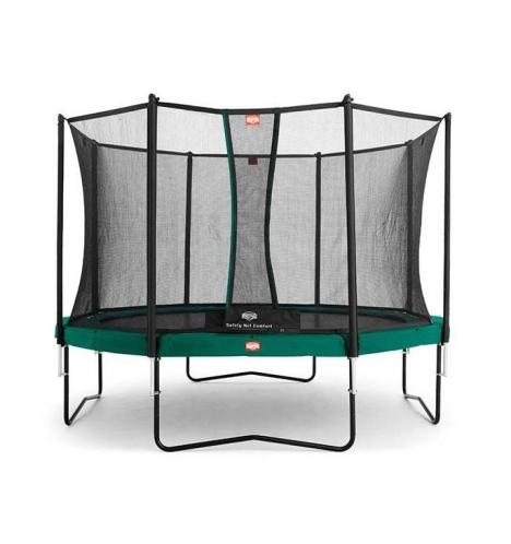 trampoliner paa ben berg champion 430 inkl comfort sikkerhedsnet 3108
