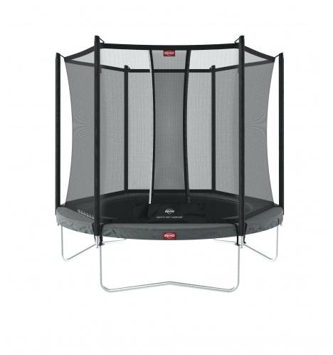 trampoliner paa ben berg favorit 200 graa inkl comfort sikkerhedsnet 7764
