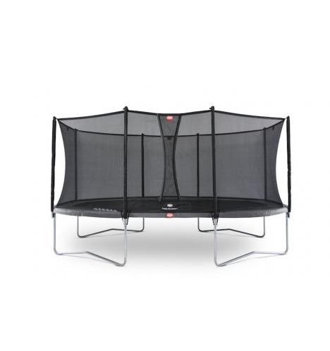 trampoliner paa ben berg grand favorit 520 graa inkl comfort sikkerhedsnet 5196