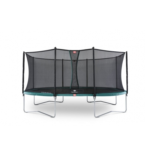trampoliner paa ben berg grand favorit 520 groen inkl comfort sikkerhedsnet 5191