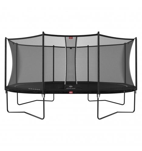 trampoliner paa ben berg grand favorit 520 sort inkl comfort sikkerhedsnet 9105