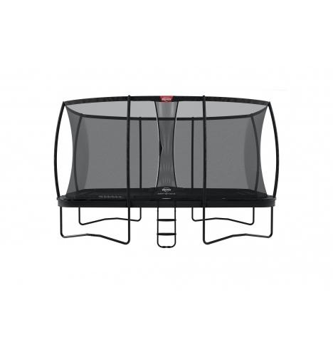 trampoliner paa ben berg ultim elite 500 sort inkl sikkerhedsnet deluxe xl 8116