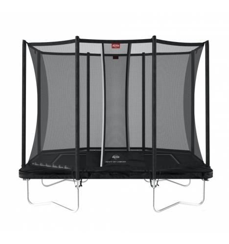 trampoliner paa ben berg ultim favorit 280 sort inkl sikkerhedsnet comfort 8194