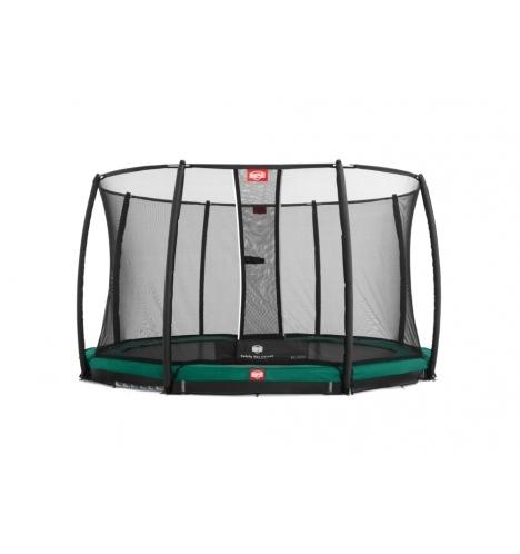 trampoliner til nedgravning berg champion inground 430 cm inkl sikkerhedsnet deluxe 8169
