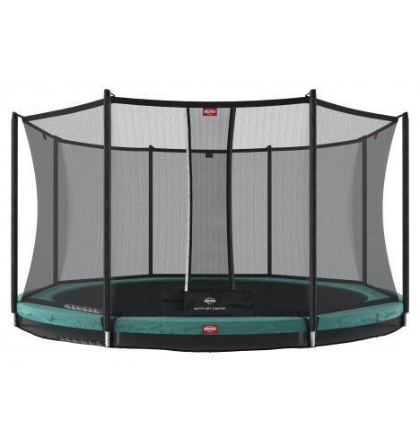 trampoliner til nedgravning berg favorit inground 380 inkl sikkerhedsnet 8218