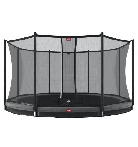trampoliner til nedgravning berg favorit inground 430 inkl sikkerhedsnet comfort 8221