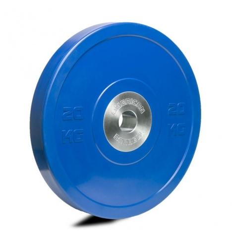 vaegteskiver american barbell 20 kg pro bumper skive 3834