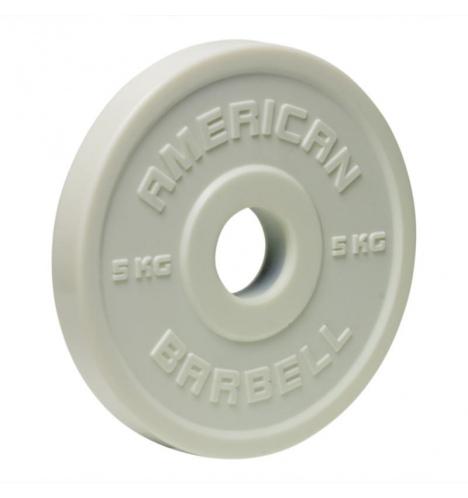 vaegteskiver american barbell 5 kg urethane fractional skivevaegt 1303 3862